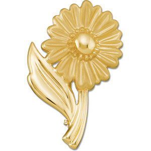 Brooche, Pin , Floral-Inspired Brooch