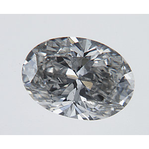 Oval 0.43 carat H SI2 Photo