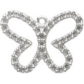 Petite Butterfly Dangle Mounting