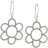 Accented Petite Floral-Inspired Earrings