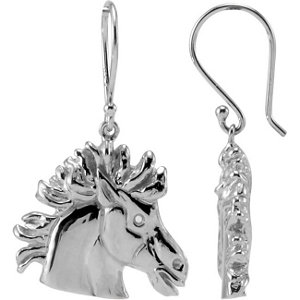 Earrings , The Magnificent Lipizzaner Earrings