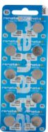 Renata #386 Pack of 10 0% Mercury Silver Oxide Watch Batteries