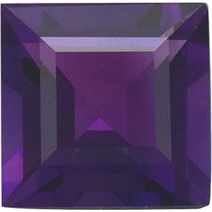 Amethyst Square 0.32 carat Purple Photo