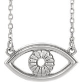 Evil Eye Necklace or Center