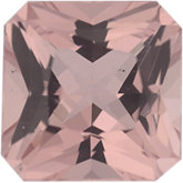 Asscher Genuine Morganite (Black Box)