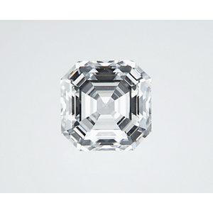 Asscher 0.54 carat F VS1 Photo
