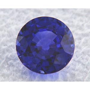 Sapphire Round 2.24 carat Blue Photo