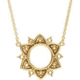Accented Necklace or Center