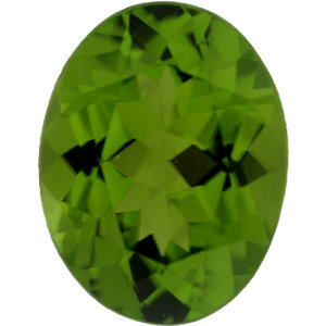Peridot Oval 6.42 carat Green Photo