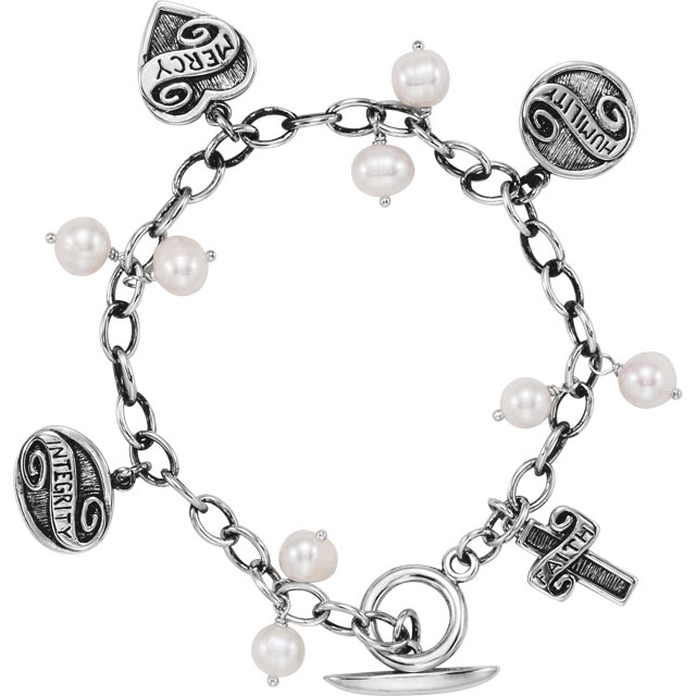 Sterling Silver Lifetime Skills™ Bracelet