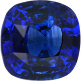 Antique Square Genuine Blue Sapphire (Black Box)