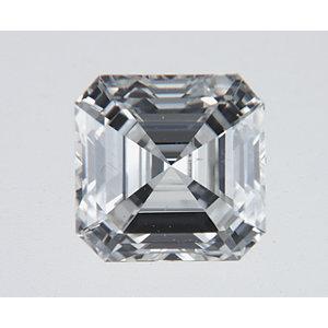 Asscher 0.51 carat H SI1 Photo