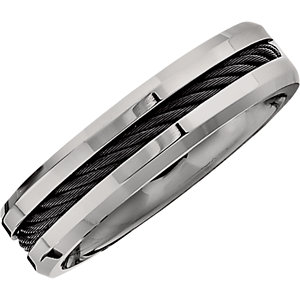 Titanium 6mm Band Size 6