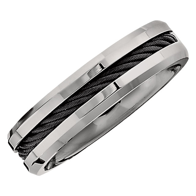 Titanium 6 mm Band Size 6