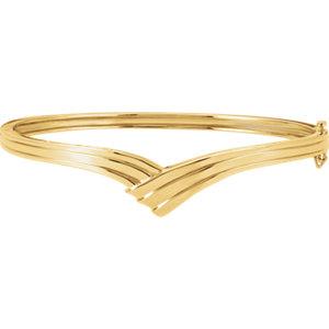Bracelet, Hinged Bangle Bracelet