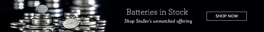 Batteries in Stock | Shop Stuller's unmatched offering