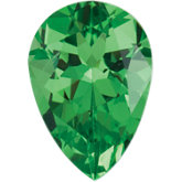 Pear Genuine Tsavorite Garnet