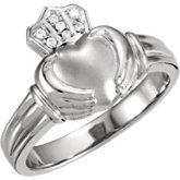 Claddagh Duo Ring