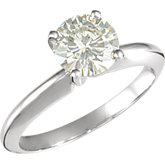 Charles & Colvard Moissanite® 4-Prong Engagement Ring