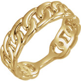 Interlocking Stackable Link Ring