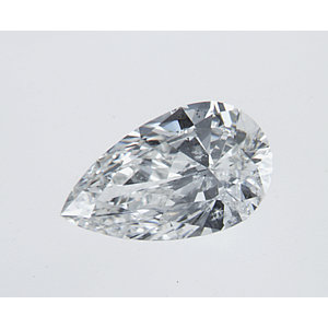Pear Shape 0.31 carat G I1 Photo