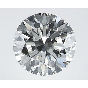 Round 2.01 carat I SI2 Photo