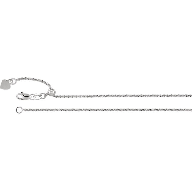 1.4 mm Adjustable Fashion Chain