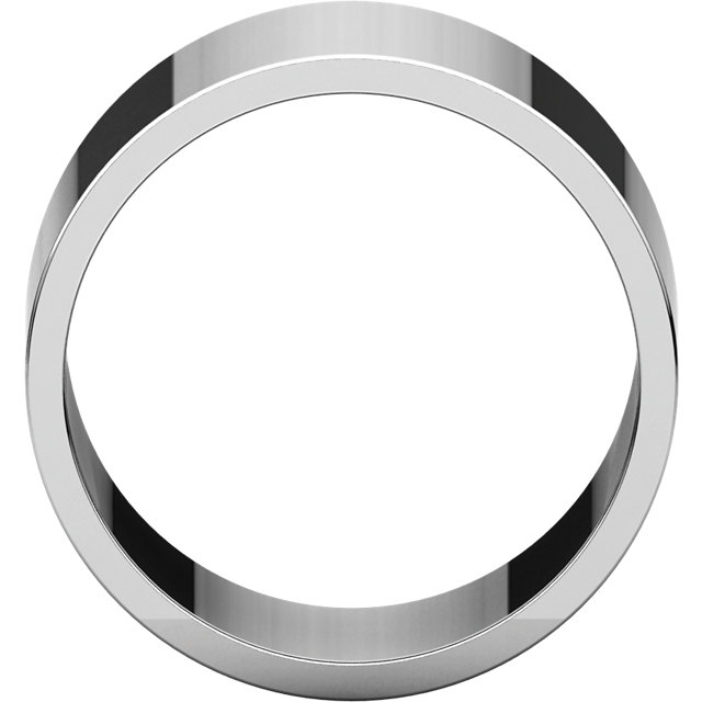 Sterling Silver 12mm Flat Band