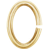 6.6x4.8 mm Oval Jump Ring