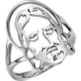 Face of Jesus Ring