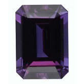 Emerald/Octagon Genuine Alexandrite (Black Box)