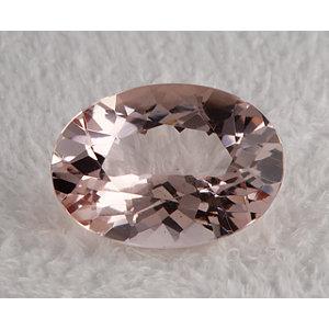 Morganite Oval 4.98 carat Pink Photo