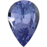 Pear Genuine Tanzanite