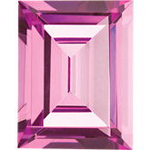 Cushion Imitation Pink Tourmaline