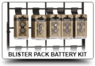 Blister Pack Battery Kit