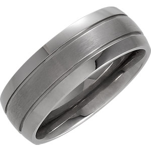 Titanium 8mm Band Size 12.5