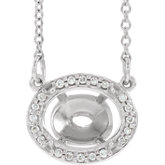 Halo-Style Necklace