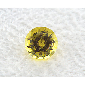 Sapphire Round 0.89 carat Yellow Photo