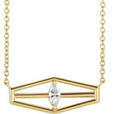 Geometric Necklace or Center