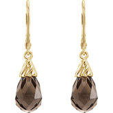 Briolette Lever Back Earrings
