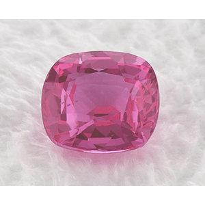 Sapphire Cushion 0.83 carat Pink Photo