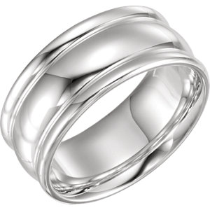 Sterling Silver Men-s Fashion Ring Size 11
