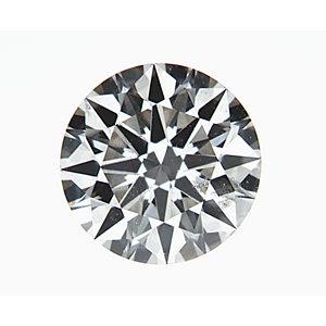 Round 0.40 carat H SI2 Photo