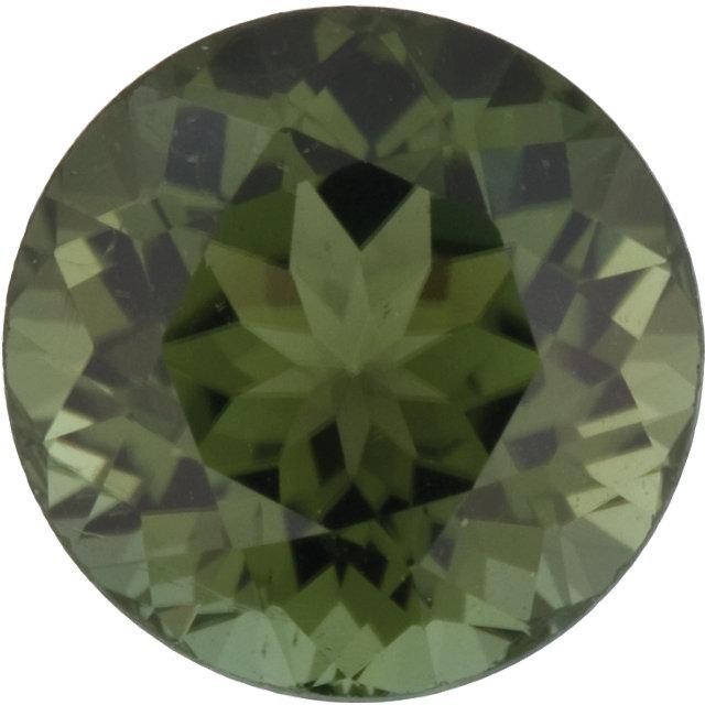 Tourmaline Round 0.27 carat Green Photo
