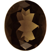 Oval Genuine Smoky Quartz