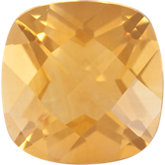 Antique Square Genuine Citrine