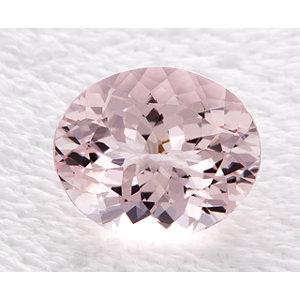 Morganite Oval 3.80 carat Pink Photo