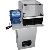 Deluxe Junior Polishing Unit with Clearview Hood