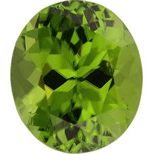 Peridot Oval 6.06 carat Green Photo