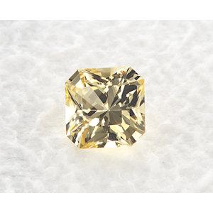 Sapphire Asscher 0.82 carat Yellow Photo
